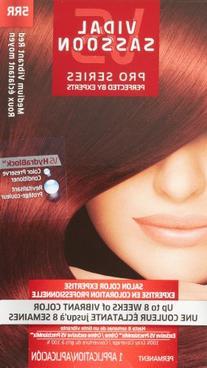 Vidal Sassoon Pro Series Hair Color, 5RR Medium Vibrant Red