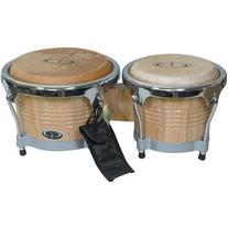"GP Percussion Pro-Series Tunable 6.5""/8"" Bongos"