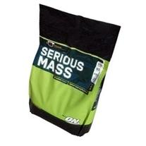 Optimum Nutrition Serious Mass Strawberry 12Lb Weight Gainer