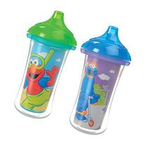 Munchkin Sesame Street Click Lock Insulated Sippy Cup, 9 oz