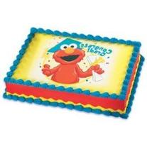 Sesame Street Elmo and Cookie Monster Graduation Cupcake