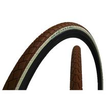 Fyxation Session 700x23 Tire White Wall on Brown Foldable
