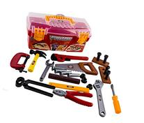 WolVol 26-piece Tool Box Set with Removable Tool Tray -