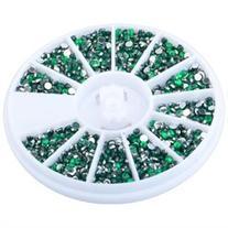 Zodaca 1200-piece set Nail 1.5mm 3D Rhinestones Decoration,
