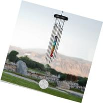 Woodstock Seven Stones Chakra 17.5 Inch Wind Chime