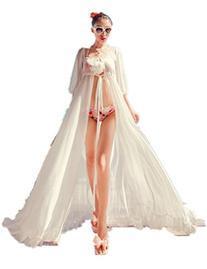 Women Sexy Chiffon Long Dress Sarong Beach Bikini Swimwear