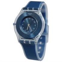 Swatch SFS103 Dive-In Blue Sunray Analog Dial Silicone Band
