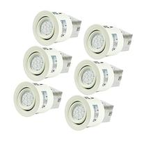 SGL 3-Inch LED Recessed Lighting Kit with GU10 Dimmable 6W
