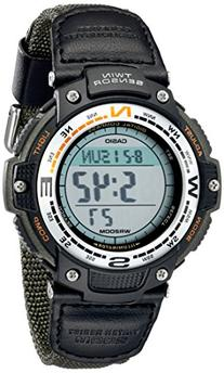 Casio Men's SGW100B-3V Digital Compass Twin-Sensor Sport