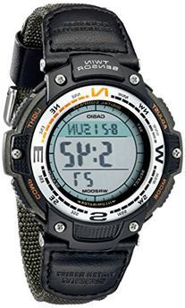 Casio Men's SGW100B-3V Digital Compass Twin-Sensor Sport Watch
