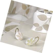 Creative Bath Products Shadow Leaves Resin Hooks