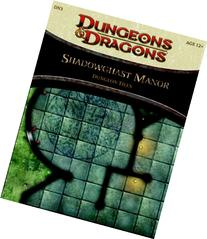 Shadowghast Manor - Dungeon Tiles: A 4th Edition Dungeons &