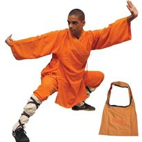 Shaolin Monk Robe - Orange - Small