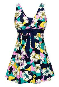 WantDo Women's Shaping Body Swimsuit lovely Swimwear One-