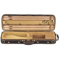Shar Ambassador Violin Case Black Tan Paisley 4/4