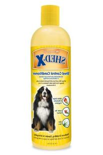 SynergyLabs Shed-X Shed Control Conditioner for Dogs; 17 fl
