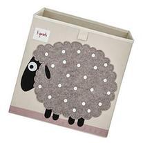 3 Sprouts Sheep Storage Box, Beige