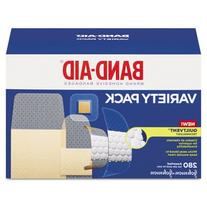 Sheer/Wet Adhesive Bandages, Assorted Sizes, 280/Box, Sold