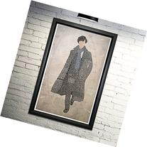 Sherlock word art print, 11x17