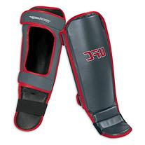 UFC Shin/Instep Guard, Red/Gray, Large/X-Large