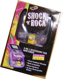 NYKO Shock 'N' Rock Game Boy Color 4-IN-1 Accessory Comfort