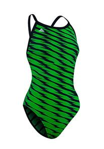 Adidas Shockwave Girls Vortex Back Bathing Suit