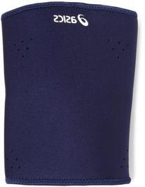 ASICS Unisex Shooting Sleeve, Navy, X-Small