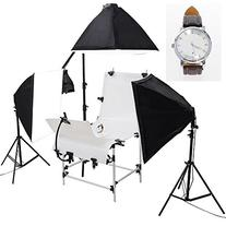 """AW 51""""x23"""" Shooting Table 3x Softboxes 12x 45W Continuous"""