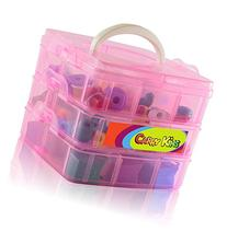 Compact Carrying Case for All Seasons of Shopkins - 3 Layers