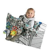 Kiddlets Shopping Cart High Chair Cover for Baby, Includes