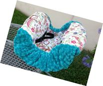 """Shopping Cart Cover- """"Teal Paisley"""