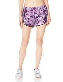 Champion Women's Sport Short 4, Abstract Lilac Straw Paint/