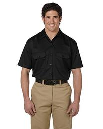 Dickies - Men's 5.25 oz. Short-Sleeve Work Shirt >> 2XL,RED