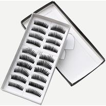 Natural Short Thick False Eyelashes
