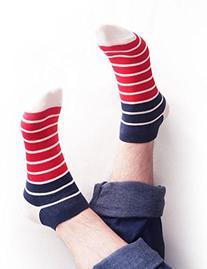 Vero Monte 6 Pairs Mens No Show Ankle Socks  1221