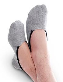 Vero Monte 6 Pairs Mens No Show Liner Socks  1421