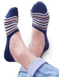 Vero Monte 6 Pairs Mens No Show Socks  1371