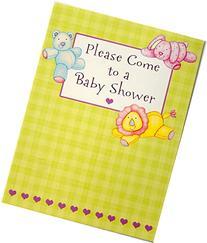 16 Baby Shower Invitations - Lion, Rabbit & Bear