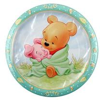 Winnie the Pooh Baby Shower Plates