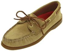 Sperry Top-Sider Women's A/o Boat Shoe,Gold,6 M US