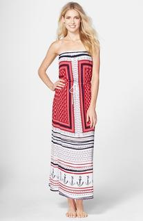 Women's Sperry Top-Sider 'Anchors Aweigh' Maxi Dress, Size