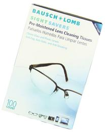 Bausch & Lomb Sight Savers Premoistened Lens Cleaning