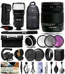 Sigma 18-250mm F3.5-6.3 DC OS HSM Lens for Canon  includes 3