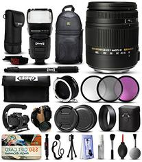 Sigma 18-250mm F3.5-6.3 DC OS MACRO HSM Lens for Nikon  with