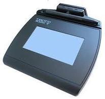 Topaz TM-LBK755SE-HSB-R SignatureGem LCD 4x3 with MSR