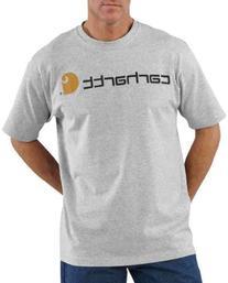 Carhartt Men's Signature Logo Short Sleeve Midweight Jersey