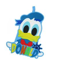 Large Silicone Disney Donald Duck Luggage Tag for Travel