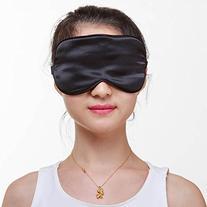 KINGLAKE® Silk Sleeping Mask Silk Eye Patch Eye Mask