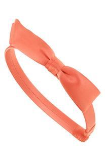 L. Erickson 'Bermuda Bow' Silk Headband, Size One Size -