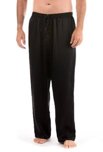 TexereSilk Men's 100% Silk Pajama Pants  Comfortable Lounge